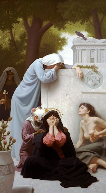 Rachel weeping for her Children by Stephen Gjertson