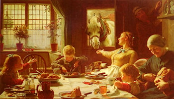 One Of The Family by F.C. Cotman
