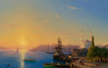 View of Constantinople by Ivan Constantinovich Ayvazovsky