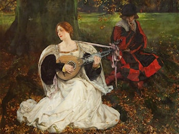 Fair is My Love by Edwin Austin Abbey