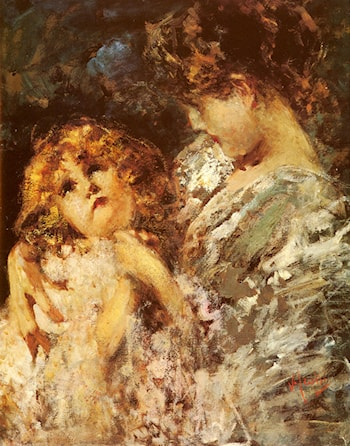 Mother And Child by Vincenzo Irolli