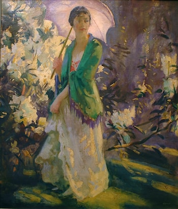 Marie in the Garden by Peder Severin Krøyer