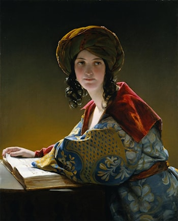 The Young Eastern Woman by Friedrich von Amerling