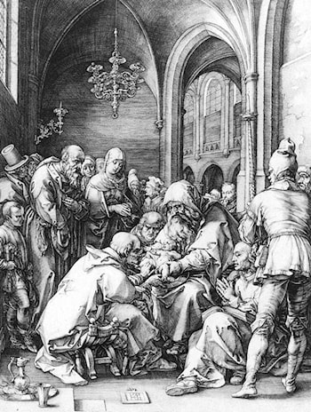 Circumcision in the Church of St Bavo at Haarlem by Hendrick Goltzius