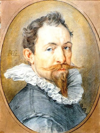 Self­Portrait by Hendrick Goltzius