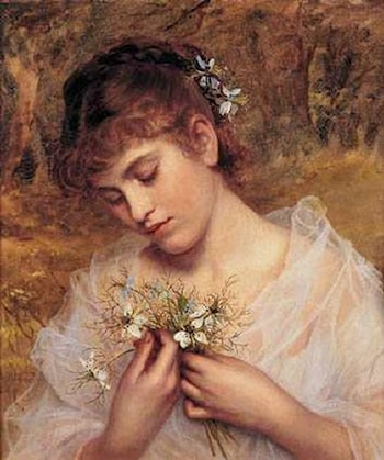 Love In a Mist by Sophie Gengembre Anderson
