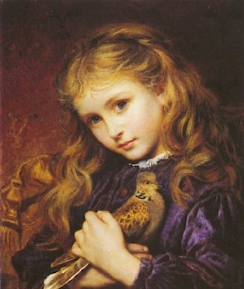 The Turtle Dove by Sophie Gengembre Anderson