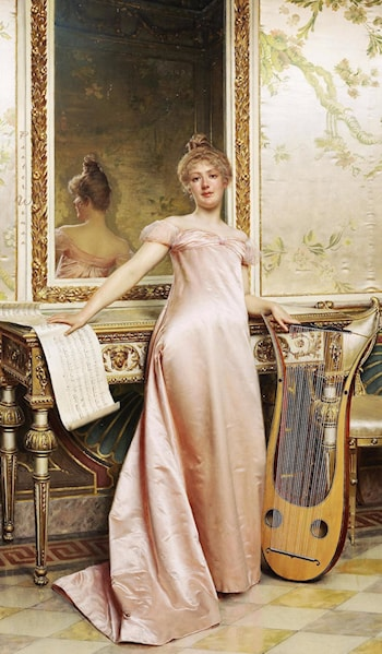 Her Music Lesson by Frederic Soulacroix