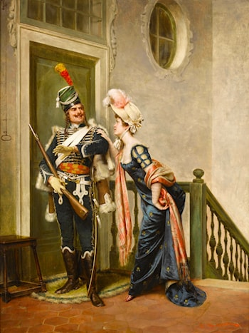 The Gallant Officer by Frederic Soulacroix