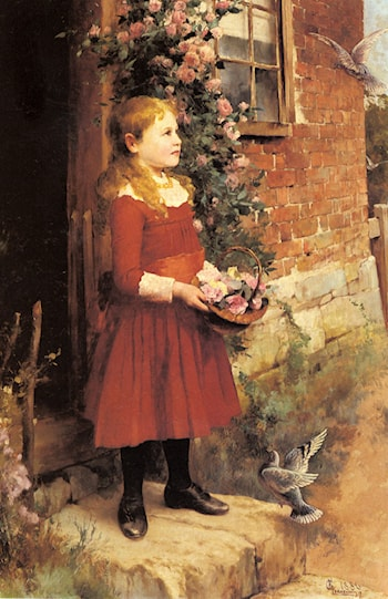 The Youngest Daughter of J.S. Gabriel by Alfred Glendening