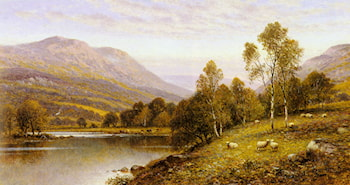 Early Evening, Cumbria by Alfred Augustus Glendening