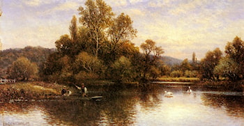 The Ferry by Alfred Augustus Glendening