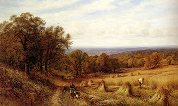 Harvest Time by Alfred Augustus Glendening