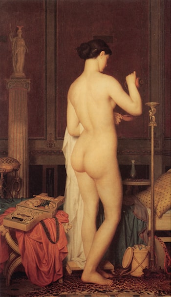 Le Coucher de Sapho by Charles Gleyre