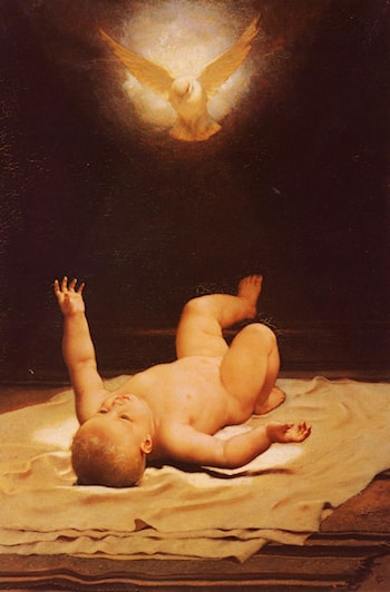 Already He knew God As His Father by Frederick Goodall
