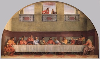 The Last Supper by Andrea del Sarto