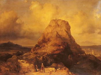 Landscape In Rhodes by Jacob Jacobs