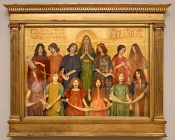 Alleluia by Thomas Cooper Gotch