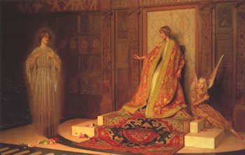Dawn of Womanhood by Thomas Cooper Gotch
