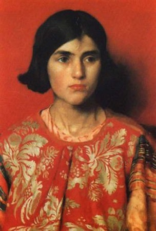 The Exile by Thomas Cooper Gotch