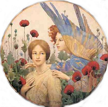 The Message by Thomas Cooper Gotch
