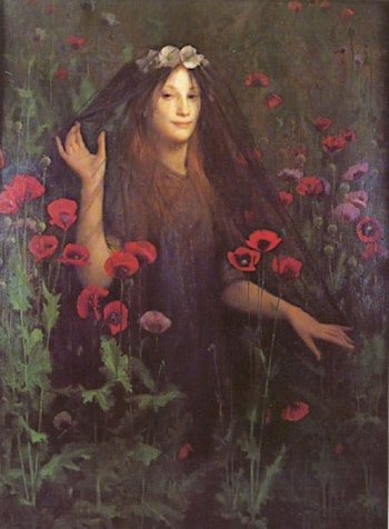 Death the Bride by Thomas Cooper Gotch