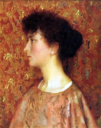 Study of a Young Woman by Thomas Cooper Gotch