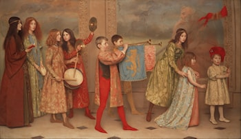 A Pageant of Childhood by Thomas Cooper Gotch