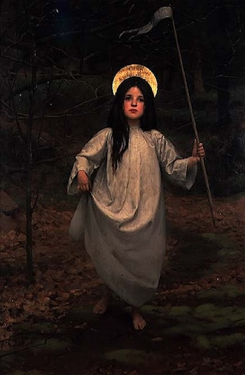 The Flag by Thomas Cooper Gotch
