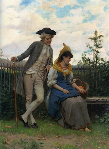 Courtship by Federico Andreotti