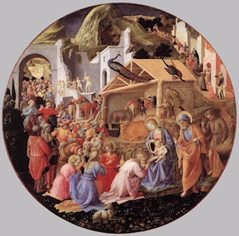 The Adoration of the Magi by Angelico