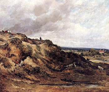 View Of Hampstead Heath by Frederick Waters Watts
