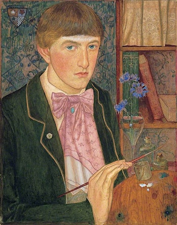 Self Portrait by Maxwell Armfield