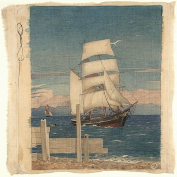 Ships Come Sailing by Maxwell Armfield