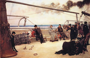 On Shipboard by Henry Bacon