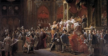 The Coronation of Charles X by Francois Gerard