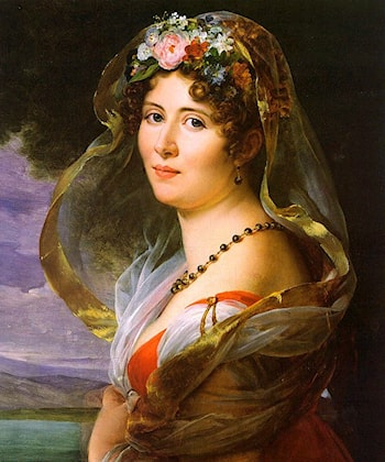 Portrait of a Lady by Francois Gerard