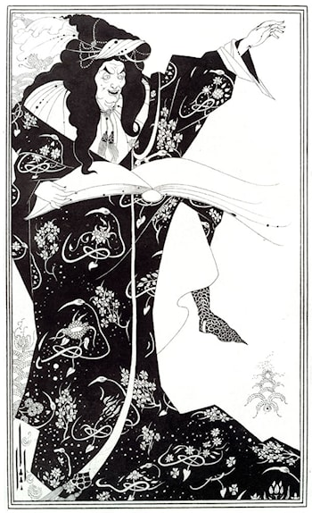Virgilius the Sorcerer by Aubrey Beardsley