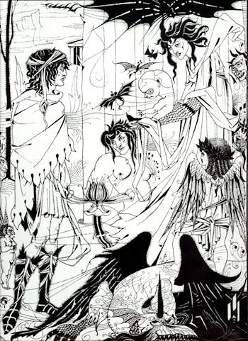 Dreams by Aubrey Beardsley