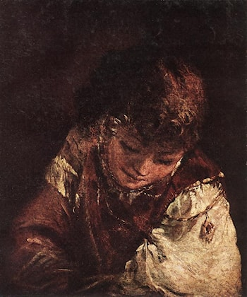 Portrait of a Boy by Aert de Gelder