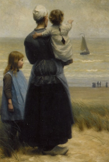 Looking out to Sea by William Edward Norton