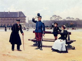 The Salute by Jules Monge