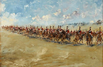 16th Lancers, Advancing at a Gallop by Edward Matthew Hale