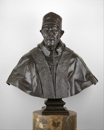 Bust of Pope Innocent X by Alessandro Algardi