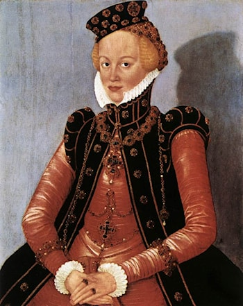 Portrait of a Woman by Lucas Cranach the Younger