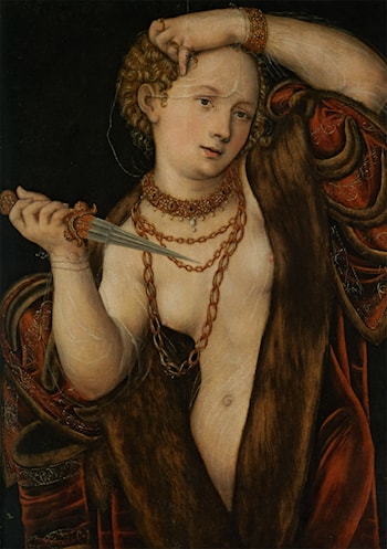 Lucretia by Lucas Cranach the Younger