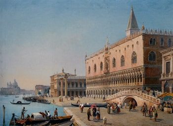 The Doges Palace by Luigi Querena