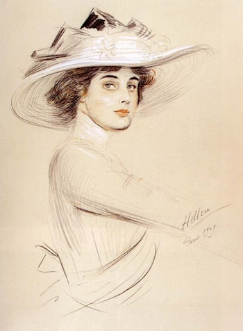 Portrait of a Woman by Paul Cesar Helleu