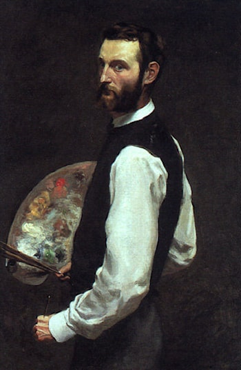 Self Portrait by Frederic Bazille