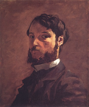 Self­Portrait by Frederic Bazille